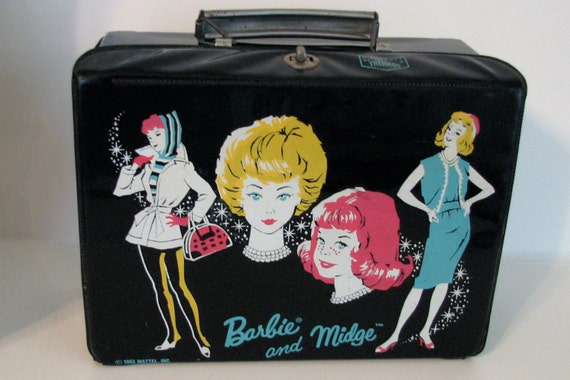 Vintage Barbie and Midge Lunch Box 1963