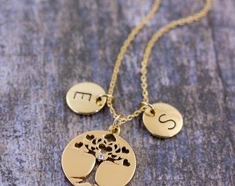 Tree-Of-Life Pendant | Family Tree Necklace | Tree-Of-Life Jewelry | Tree-Of-Life | Personalised Jewelry | Tree-Of-Life Meaning | Pendant