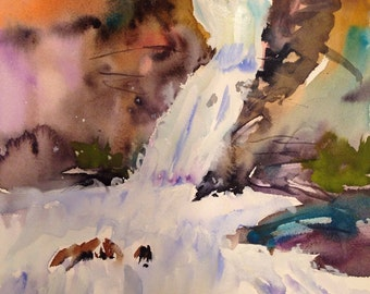 Wooden Waterfalls