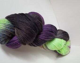 Maleficent Hand Dyed Wool Yarn