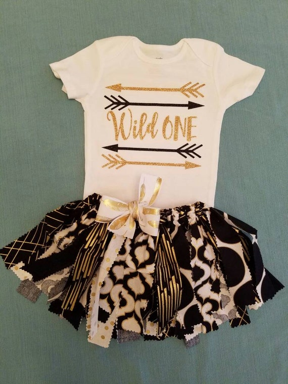 baby girl clothes wild one tribal first by Tren stTotsInTown