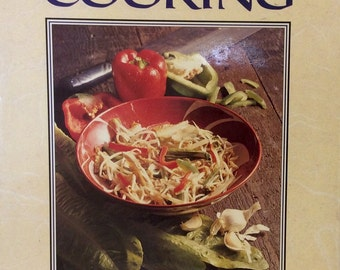 CHINESE COOKING, by H K Lee, Great Vintage, Chinese Cookbook, Asian Recipies, 1988, Vintage Cookbook