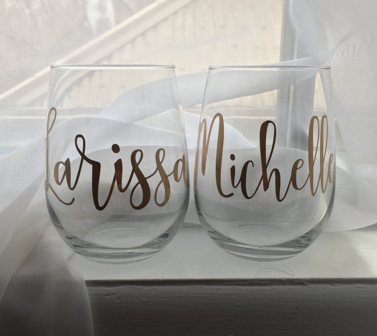 Personalized Wine Glasses Custom Wine Glass Stemless Wine