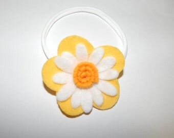 Large yellow flower