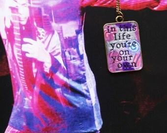 Let's Go Crazy Prince Pendant Necklace