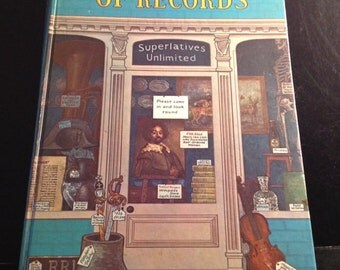 Vintage 1972 Guinness Book of World Records, Hardcover edited /compiled by Norris and Ross McWhirter.
