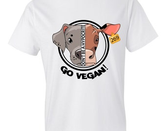GO VEGAN / Men's T-Shirt