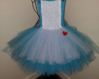 Alice in Wonderland tulle dress