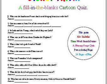 Disney Trivia Fun
