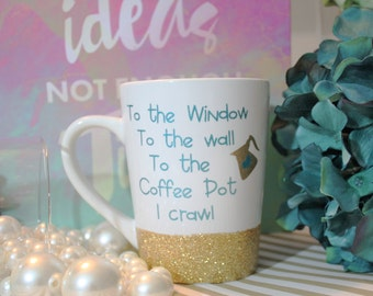 coffee mug, funny coffee mug, mugs with sayings, gift for best friend, funny mug, cute coffee mug, cute quote mug, glitter dipped mug, mugs