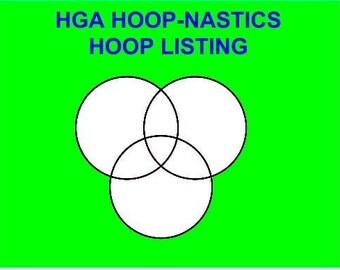 HGA Hoop-nastics Hula Hoop