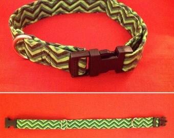 Grotesque Green Dog Collar
