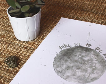PRINT - Take Me To The Moon