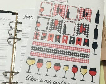Wine a bit, you'll feel better Planning Stickers