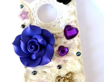 Hull portable fancy Decoden Iphone 4 / 4s - Romantic-