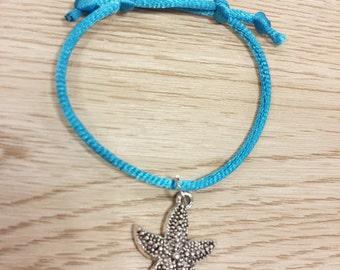Ocean Style. 10 Macrame Friendship Bracelet party Favors