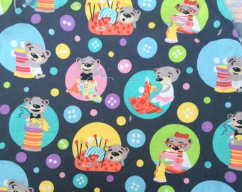 Custom Sewing Bears cloth pad, cloth pads, reusable cloth pads, reusable, mama cloth, cloth