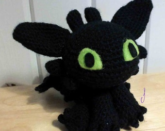 Crochet your own Toothless! (Pattern only)