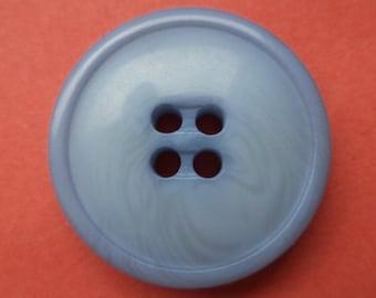 10 buttons light blue 23mm (4950) blue button jacket buttons