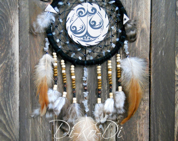 Dream catcher for car, Pendant car, keychain, zodiac, libra, Dreamcatcher, Dream catcher, large dream catcher, dream catcher large
