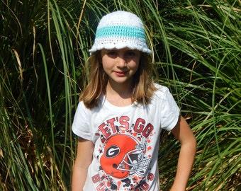 Girl's Crocheted Hat