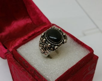 17.1 mm silver ring mask ring RP123