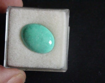 Natural Turquoise  16x 12 oval Cabochon