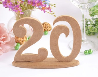 Wooden numbers Table numbers Wedding numbers Wedding wooden numbers Wedding table numbers Wedding table decor Rustic wedding decor 1-20