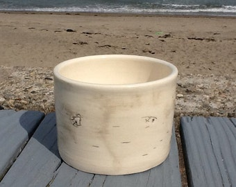 Birch Bowl (for ice cream)