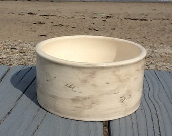 Birch Bowl (for soup, cereal, etc...)