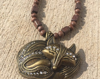 Bling Fox Necklace