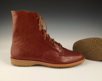 Handmade Leather Ankle Boot