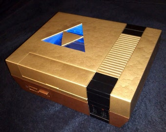 Nintendo NES Zelda Triforce personalized Custom