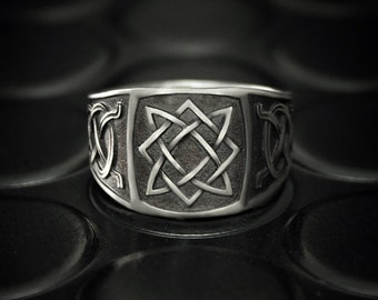 SALE 40% OFF, Men silver band, Silver signet ring, Men unique ring, Men wide ring, Silver ring for men, Signet ring for men, Ring for him