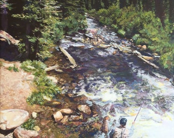 Fly Fishing, Brainard Lake Colorado