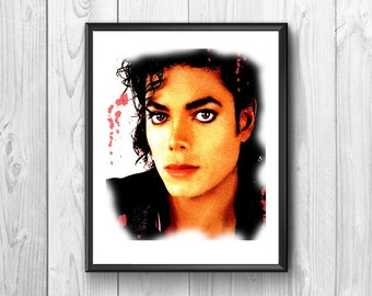 Michael Jackson.american singer, wall posters, very famous all over the world