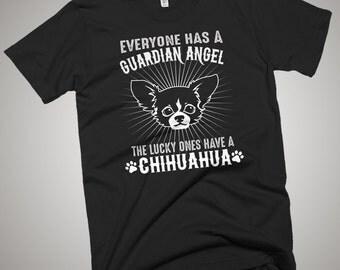 Chihuahua Guardian Angel T-Shirt Gift