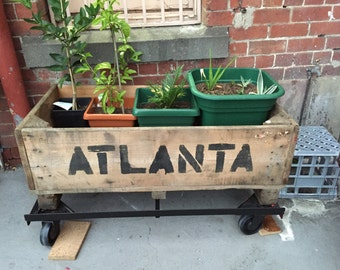 Reclaimed Timber Planter Boxes