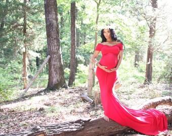 Maternity Dress, off Shoulder, Maternity Gown, Maxi Dress, Beach, maternity photo shoot dress, Grecian dress