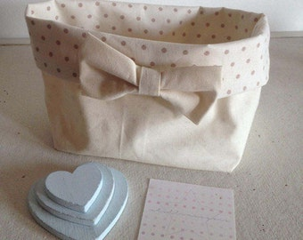 Storage basket, nursery storage
