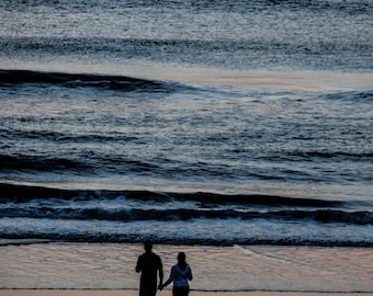 Surnise Love on the Beach