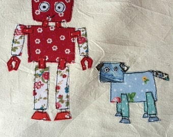 Robot Dog Bag