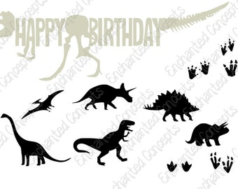 Dinosaur SVG bundle, T-rex SVG, Cutting Files, eps, svg, dxf, png, cutting plotter files, fireworks, Rockets, Silhoutte, Cricut