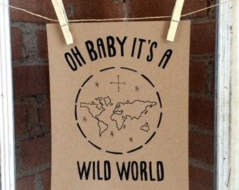 Wild World Print