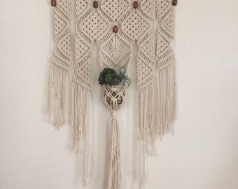 "Large Macrame Wall Hanging ""The Stevens"""