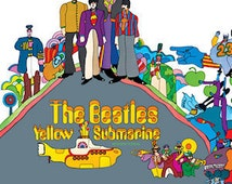 "RARE Original 1969 Vinyl ""The Beattles Yellow Submarine"" Album Capitol Records"