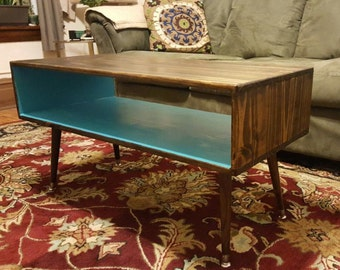 Coffee Table – Mid Century Modern, Handmade, Can Customize