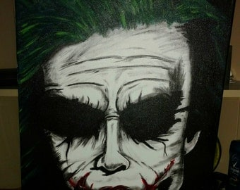 Joker Acrylic Painting
