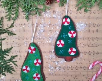 Christmas tree ornaments  Tree decoration Merry Christmas Decoration decoration Christmas ornament  Xmas Craft Felt holly