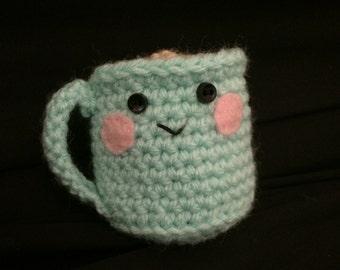 Cute Crocheted Coffee Cup